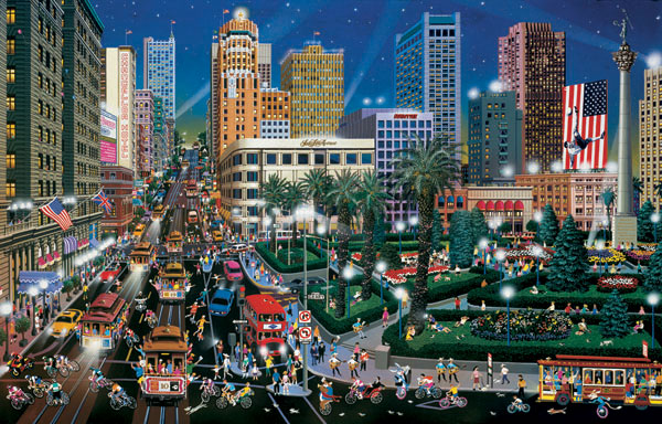 Union Square Cities Jigsaw Puzzle