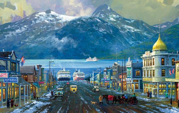 Alaska Skagway Alaska Jigsaw Puzzle