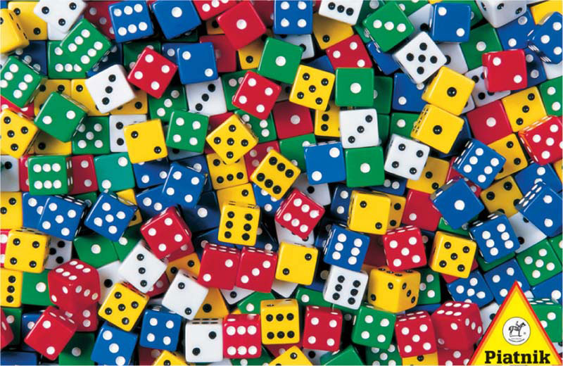 Dice Everyday Objects Jigsaw Puzzle