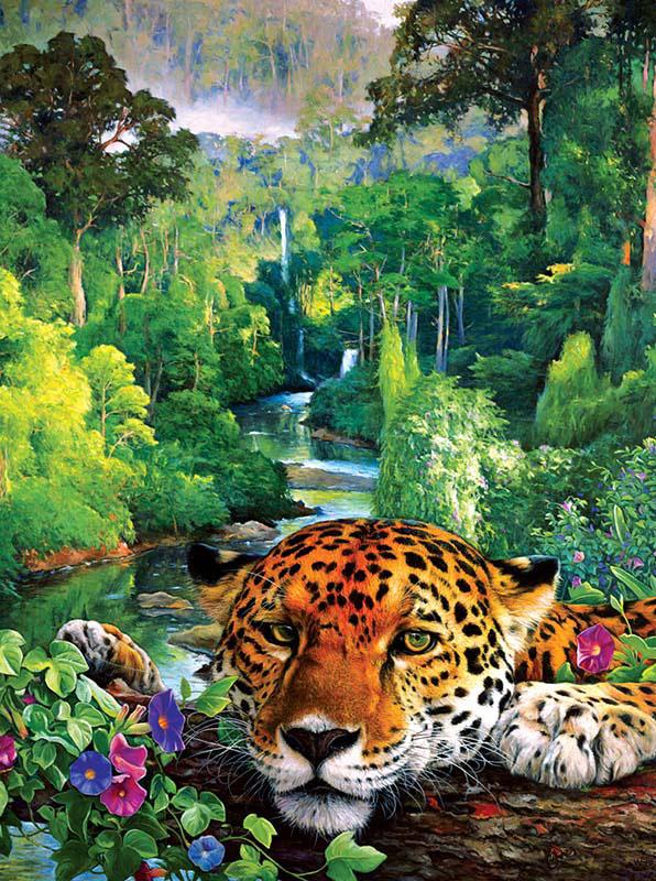 DayDreamer Jungle Animals Jigsaw Puzzle