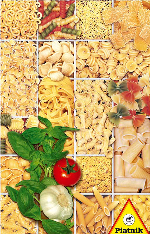 Pasta Collage Jigsaw Puzzle