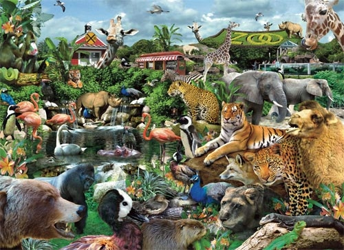 What A Zoo! Jigsaw Puzzle