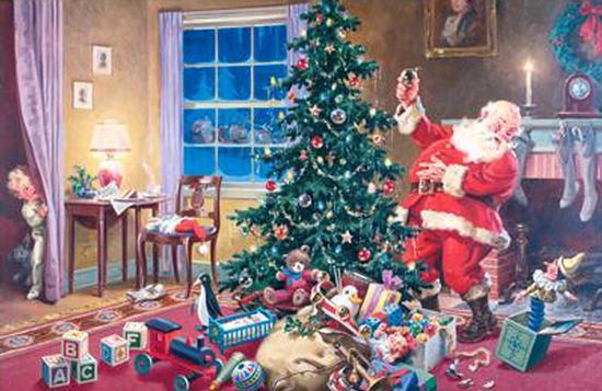 Santa Christmas Jigsaw Puzzle
