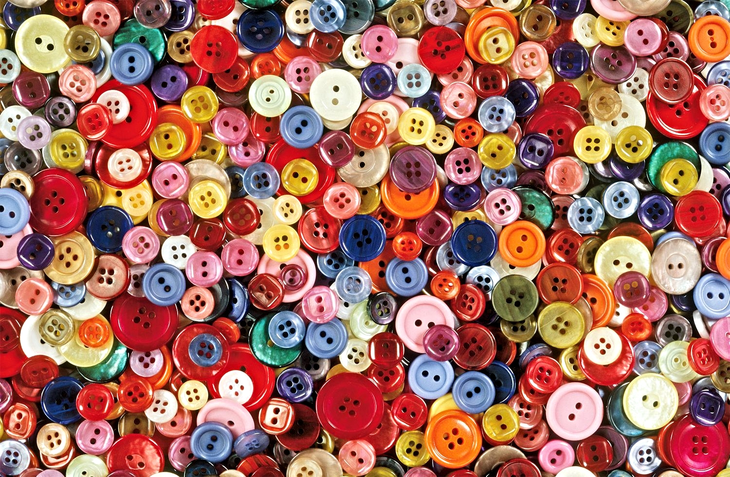 Buttons Everyday Objects Jigsaw Puzzle