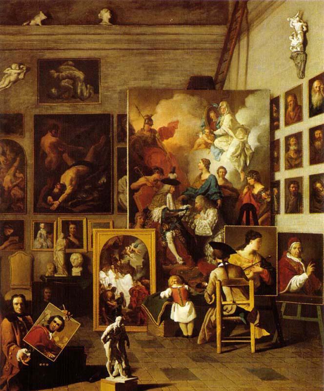 The Artist's Studio Renaissance Jigsaw Puzzle