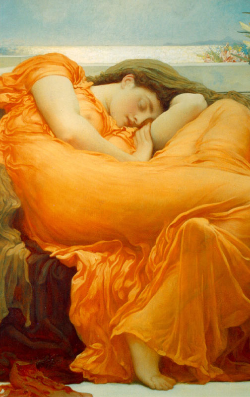 Flaming June Renaissance Jigsaw Puzzle