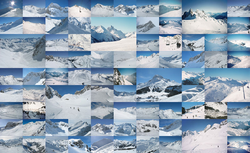 Austrian Ski Mountains Jigsaw Puzzle