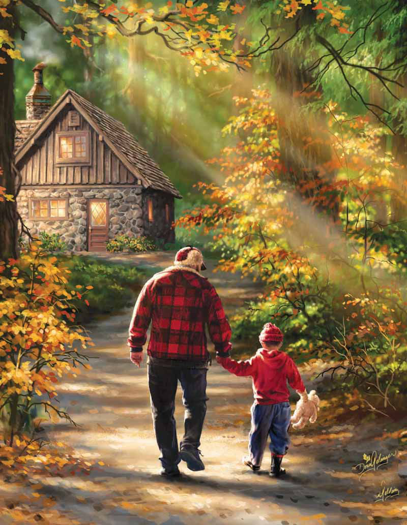 The Path Father's Day Jigsaw Puzzle