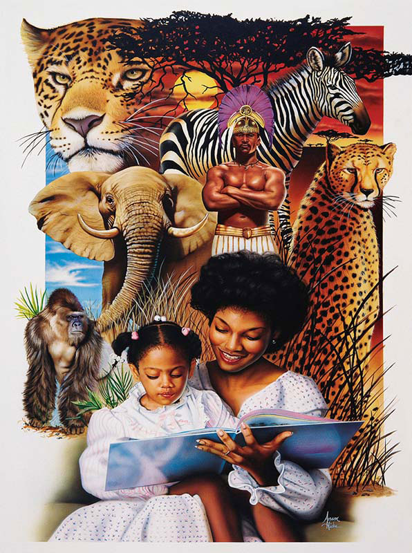 African Dream Jigsaw Puzzle Puzzlewarehouse Com