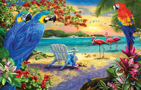 Secluded Beach Beach Jigsaw Puzzle