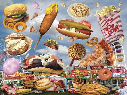 Fair Foods Jigsaw Puzzle