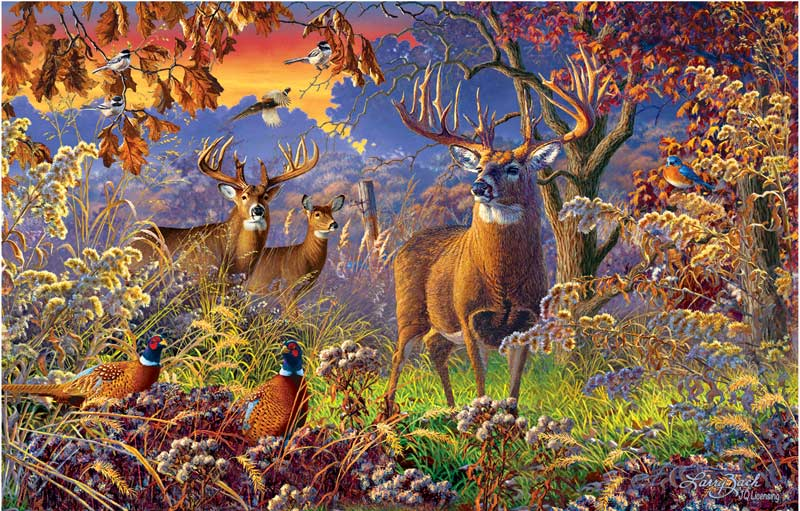On Alert Fall Jigsaw Puzzle