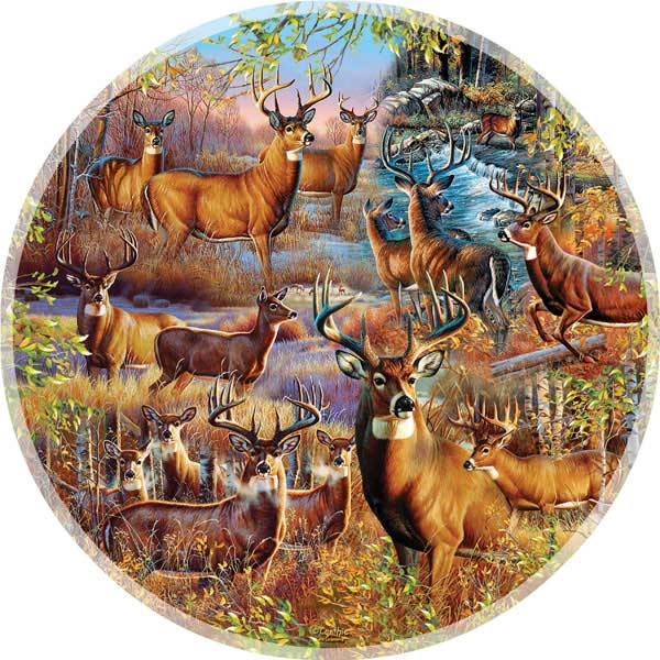 Forest Denizons Wildlife Jigsaw Puzzle