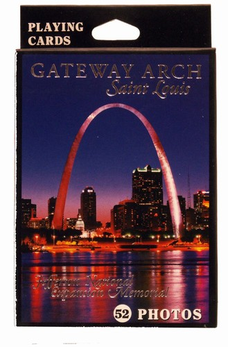Gateway Arch - Single Deck Landmarks Playing Cards
