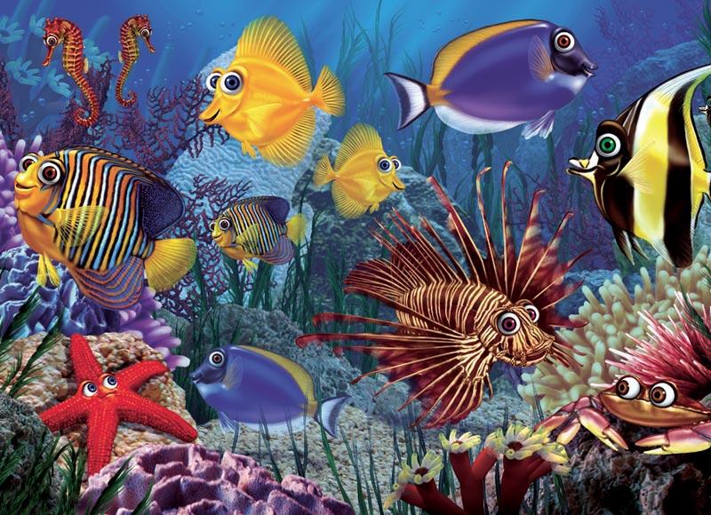 Do Fish Ever Sleep (Tray) Fish Children's Puzzles