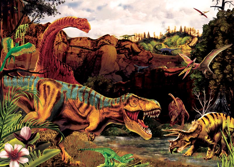 Dino Story Dinosaurs Children's Puzzles