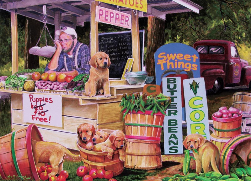 Puppies For Free Dogs Children's Puzzles
