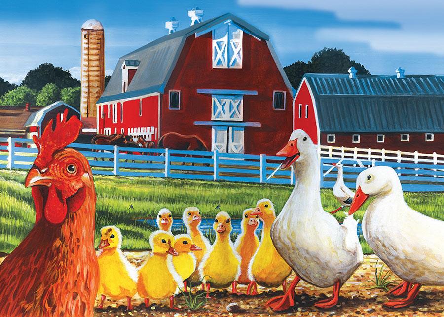 Dwight's Ducks Farm Jigsaw Puzzle