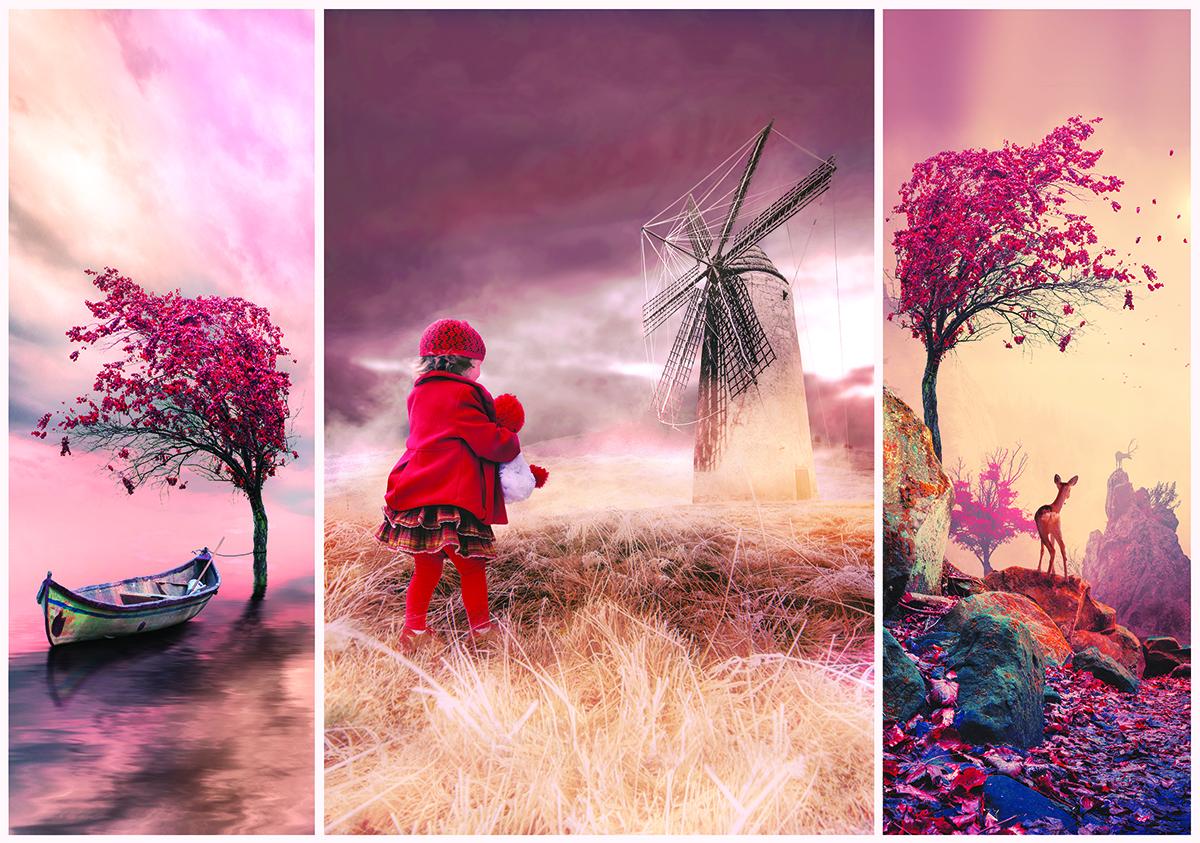 Romantic Fairytale Land Fantasy Jigsaw Puzzle