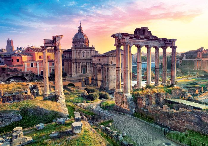 Roman Forum / Forum romain Italy Jigsaw Puzzle