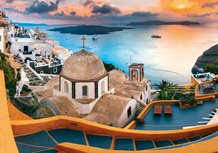 Greece / Grèce Landscape Jigsaw Puzzle