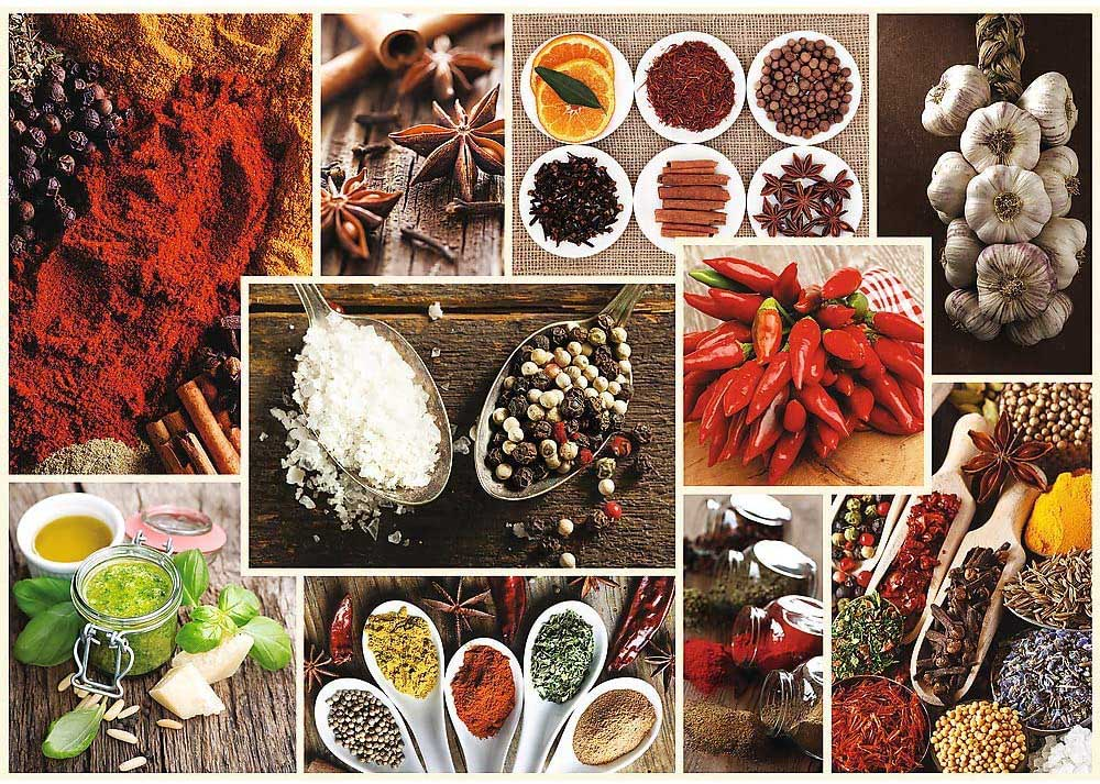 Spices - Collage Food and Drink Jigsaw Puzzle