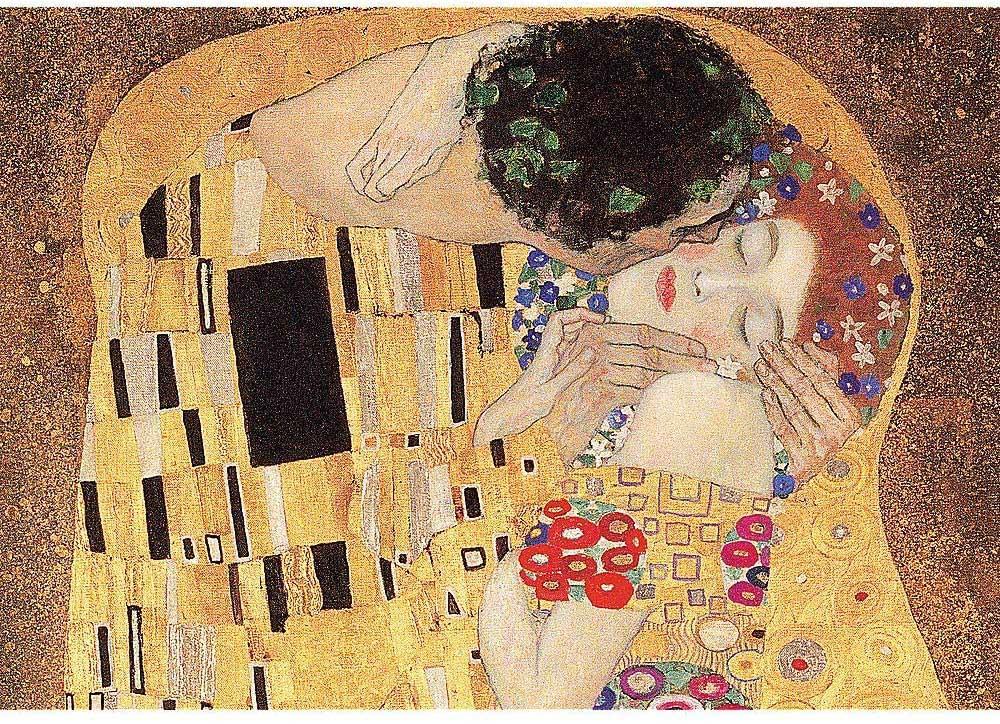 The Kiss Fine Art Jigsaw Puzzle