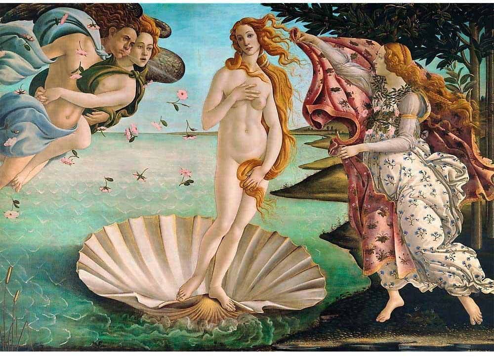 The Birth Of Venus Fine Art Jigsaw Puzzle