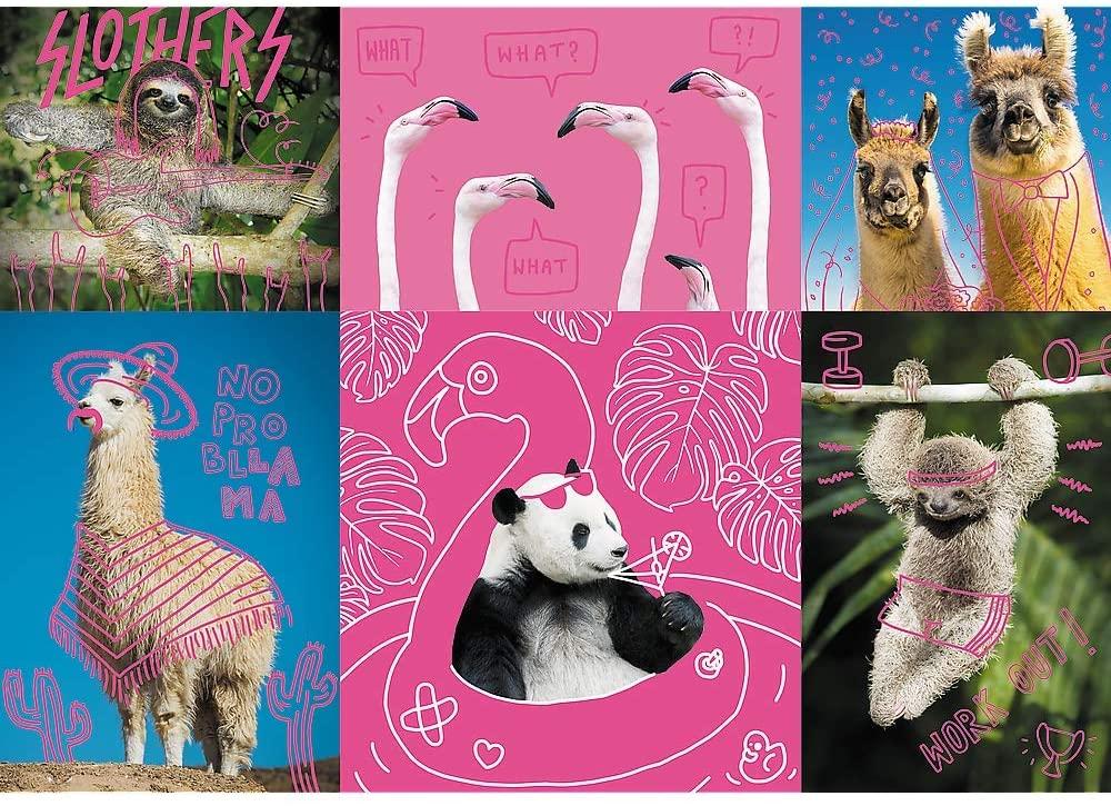 Crazy Animals Animals Jigsaw Puzzle