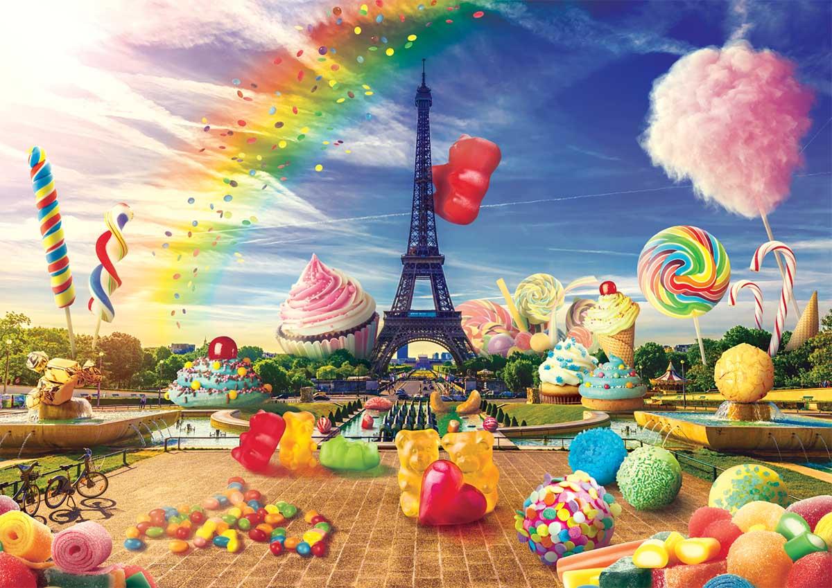 Sweet Paris Travel Jigsaw Puzzle