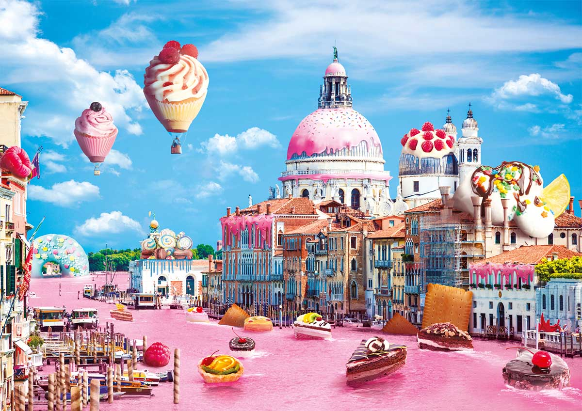 Sweets In Venice Travel Jigsaw Puzzle