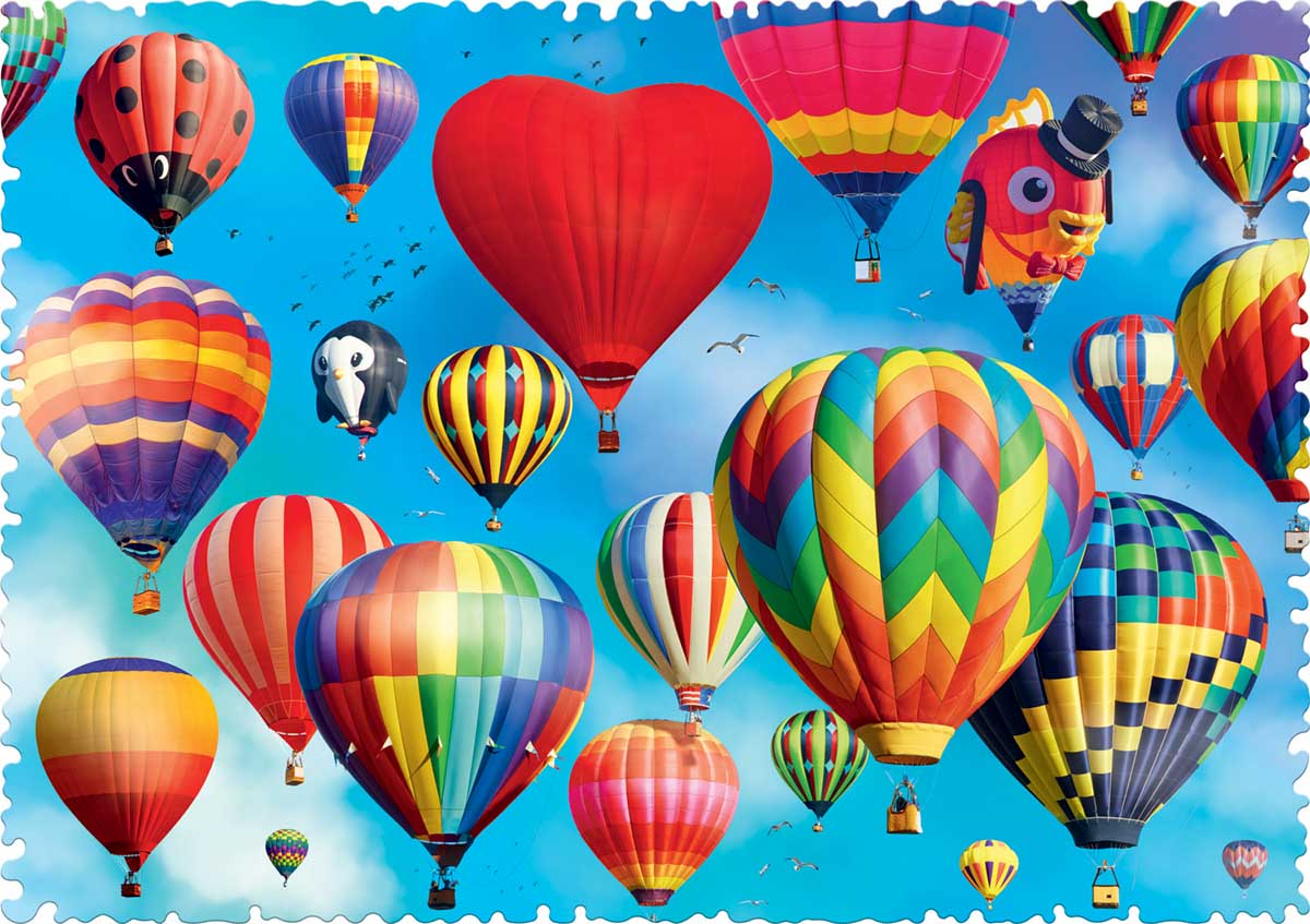 Colourful Balloons Balloons Jigsaw Puzzle