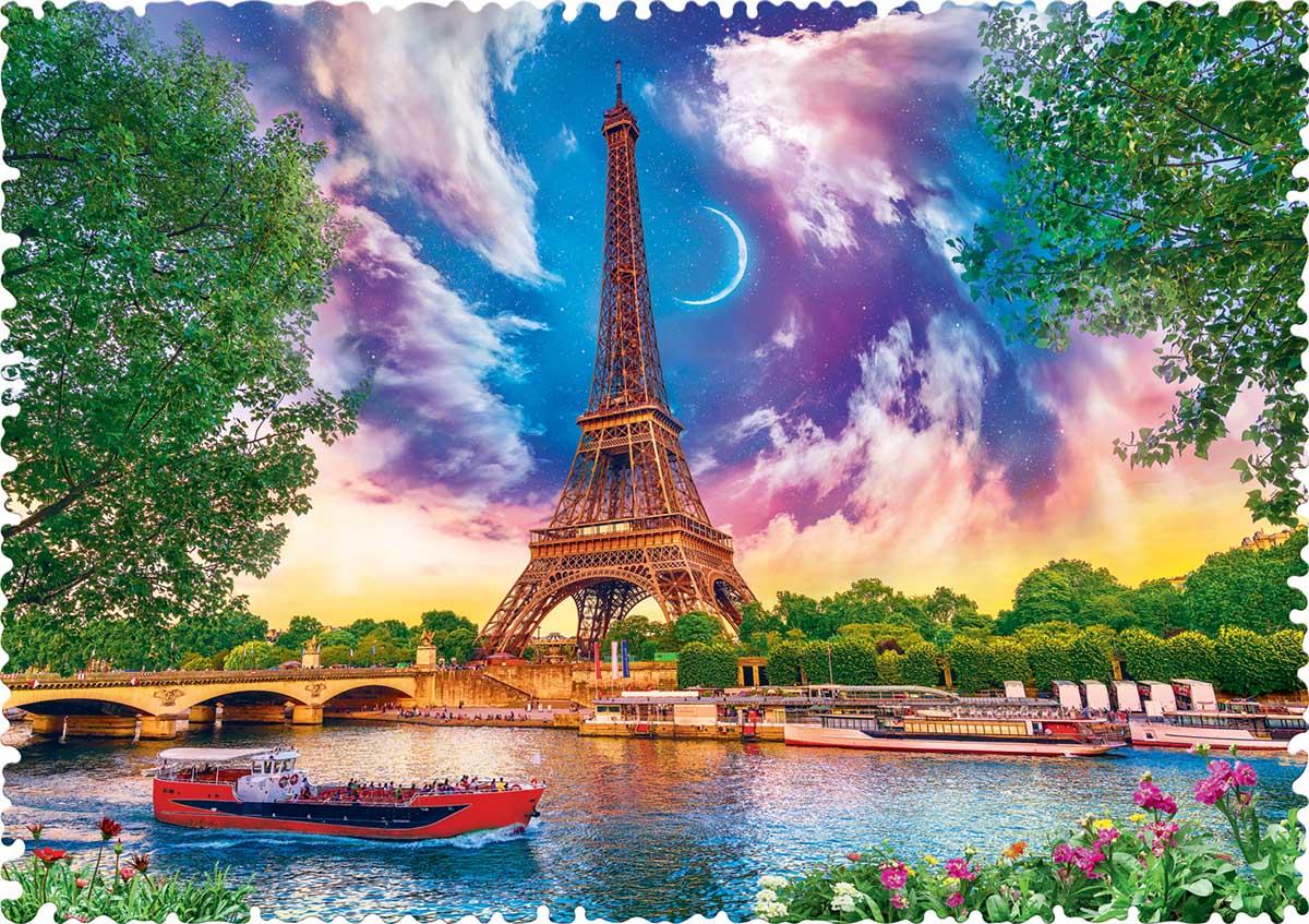 Sky Over Paris Photography Jigsaw Puzzle