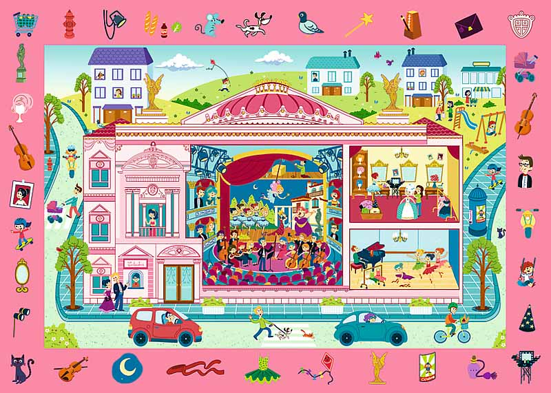 Observation Opera Music Jigsaw Puzzle