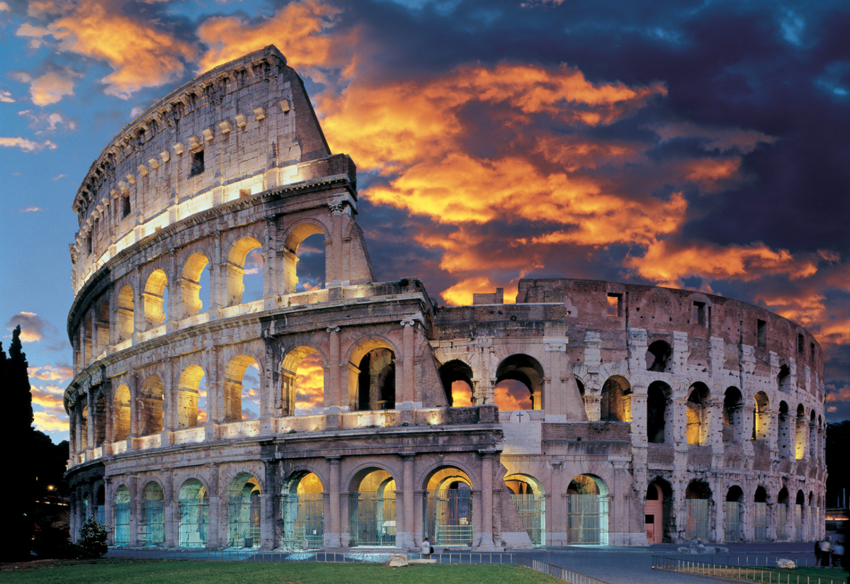 the colosseum in rome jigsaw puzzle puzzlewarehouse com