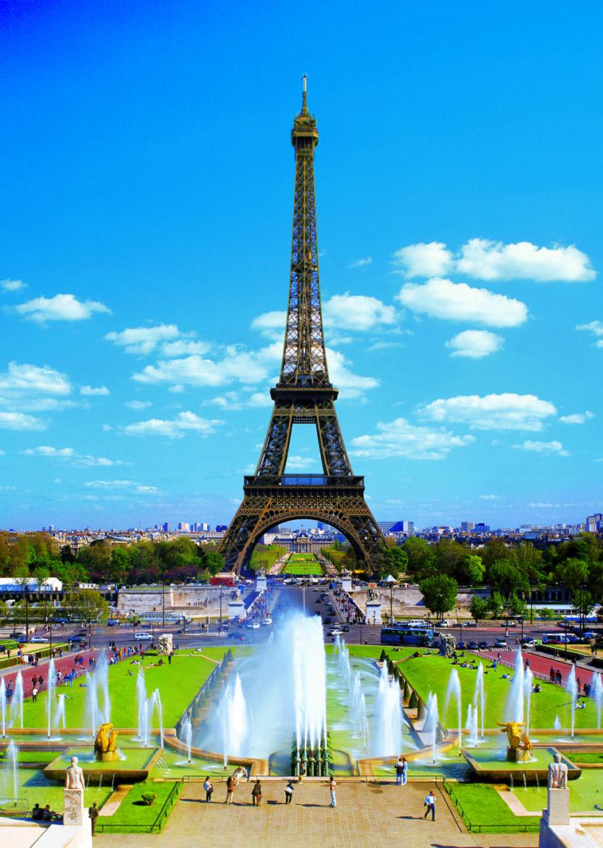 The Eiffel Tower Paris Jigsaw Puzzle