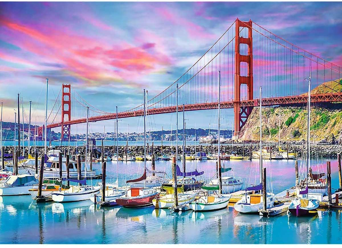 Golden Gate, San Francisco Landmarks / Monuments Jigsaw Puzzle