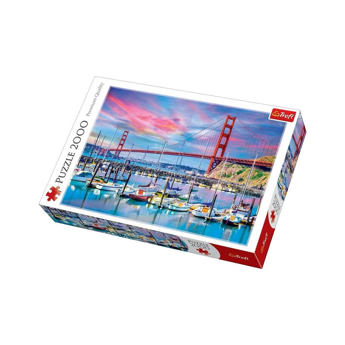 Golden Gate Bridge, Sf Landmarks / Monuments Jigsaw Puzzle