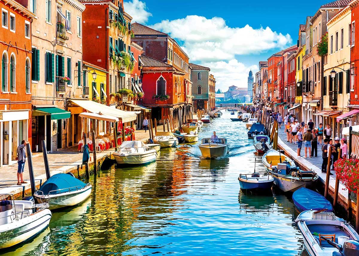 Murano Island, Venice Travel Jigsaw Puzzle