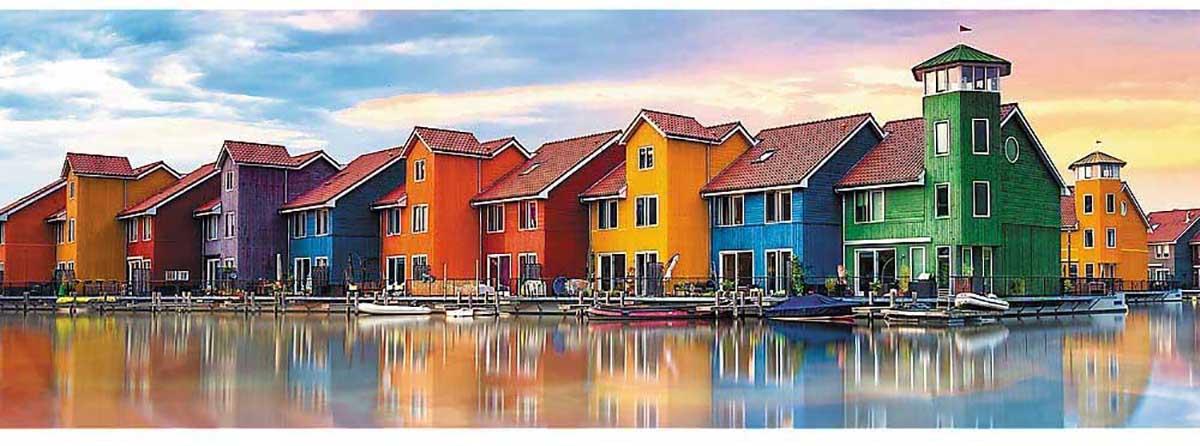 Groningen, Netherlands Boats Jigsaw Puzzle