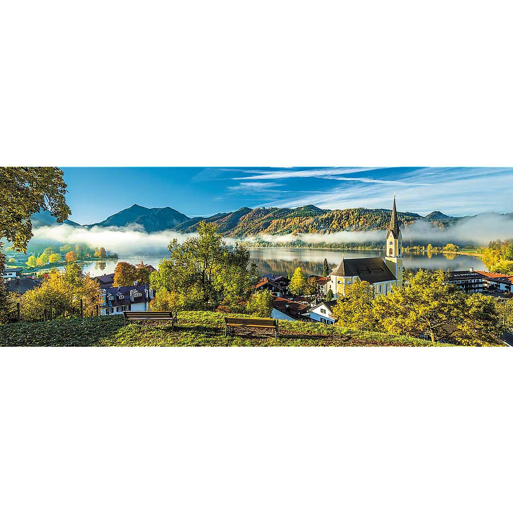 By The Schliersee Lake Europe Jigsaw Puzzle
