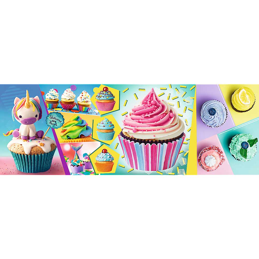 Colourful Cupcakes Sweets Jigsaw Puzzle