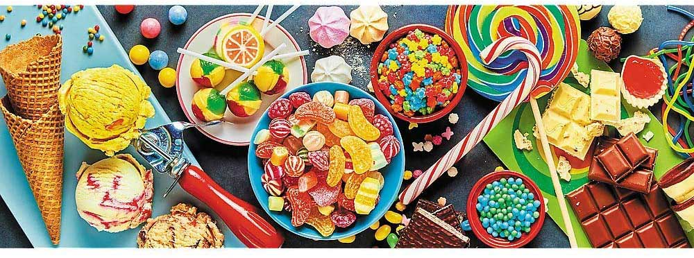 Sweet Delights Sweets Jigsaw Puzzle