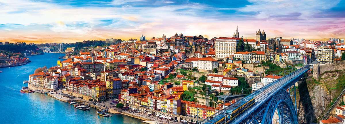 Porto, Portugal Skyline / Cityscape Jigsaw Puzzle