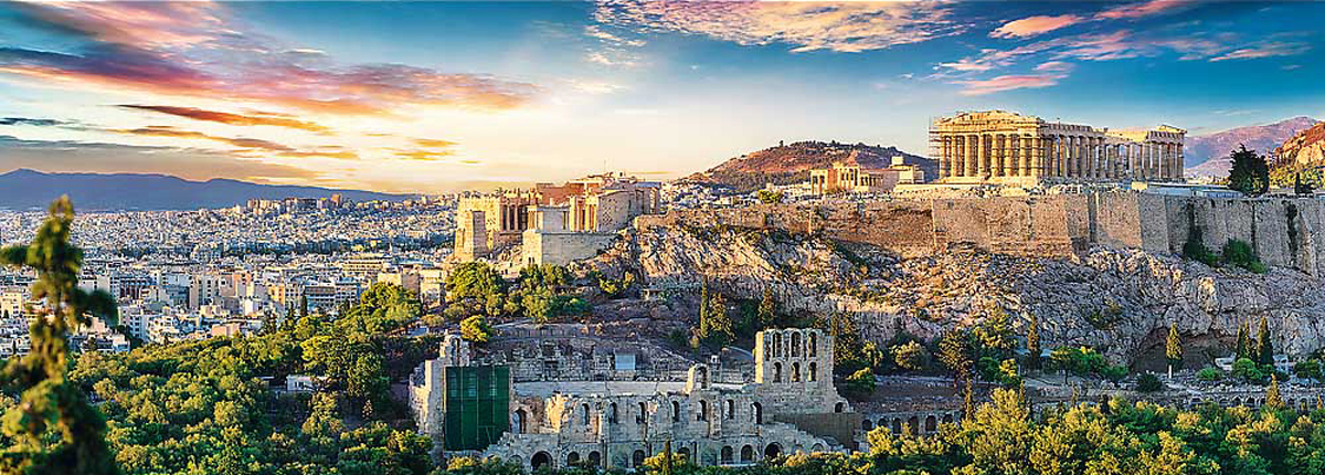 Acropolis, Athens Greece Jigsaw Puzzle