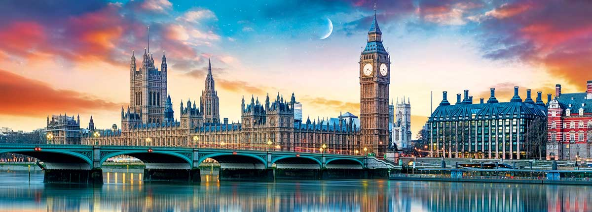 Big Ben And Palace Of Westminster, London Photography Jigsaw Puzzle