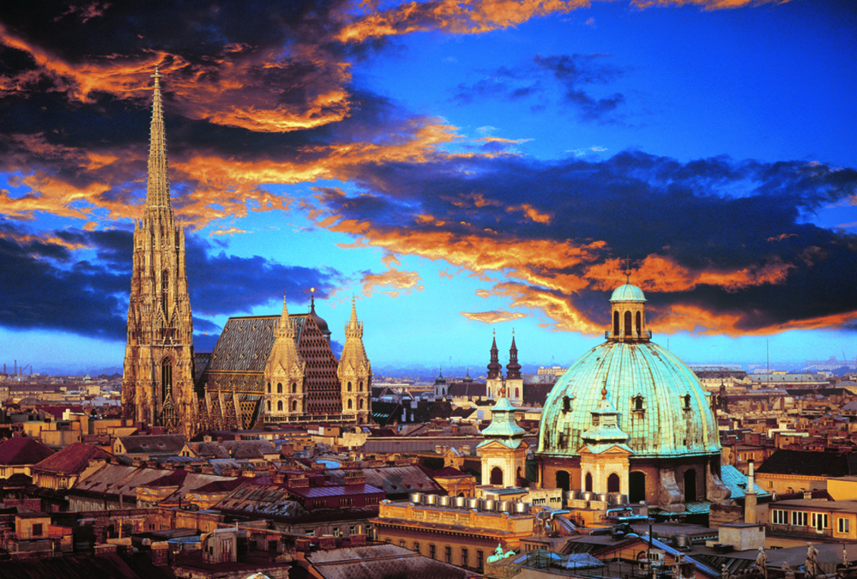 A Night in Vienna Jigsaw Puzzle