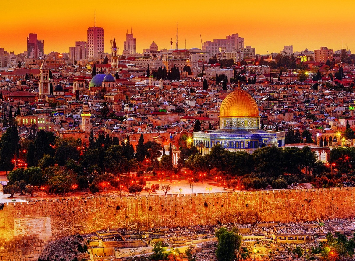 The Roofs Of Jerusalem Jigsaw Puzzle Puzzlewarehouse Com