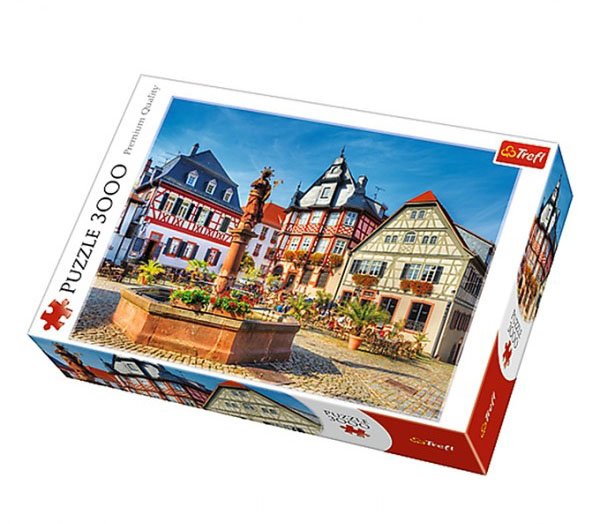 Market Square, Heppenheim, Germany Photography Jigsaw Puzzle