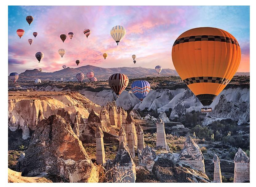 Balloons Over Cappadocia Balloons Jigsaw Puzzle